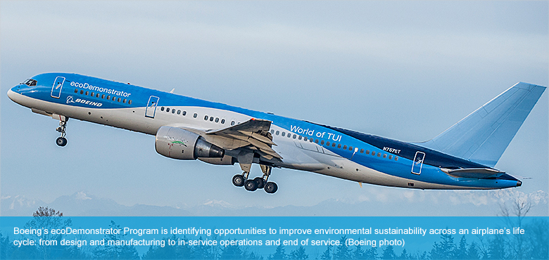 Performance Technology: Boeing: 2014 Environment Report