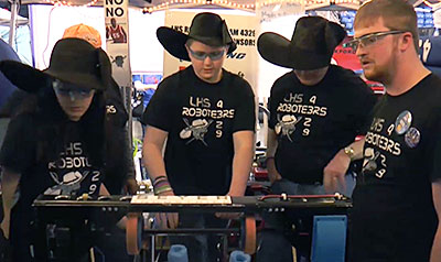 Boeing mentors help students get real-world experience during FIRST Robotics