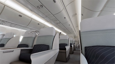 Boeing Signature Interior