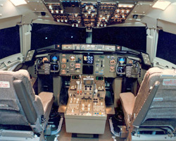 The Boeing 757 and 767 better aerial office glass cockpit that featured simplified systems, a flight management computer and graphic display screens