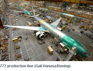 777 production line (Neg#: K64595-01)