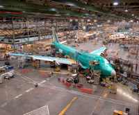 747-400 final assembly - Everett WA