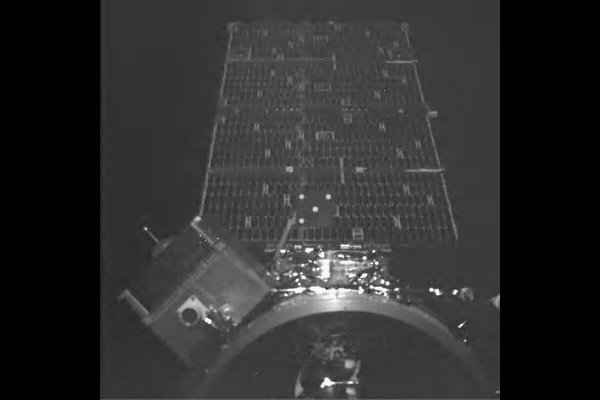Orbital Express Visible Sensor 2 Image of NEXTSat just prior to remate