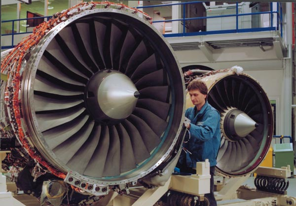 Boeing 717-200 Rolls-Royce engine