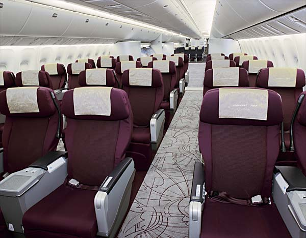 Boeing 767 business class seating