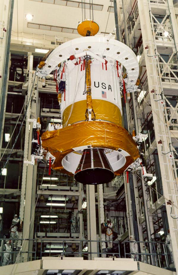 Chandra Intertial Upper Stage booster