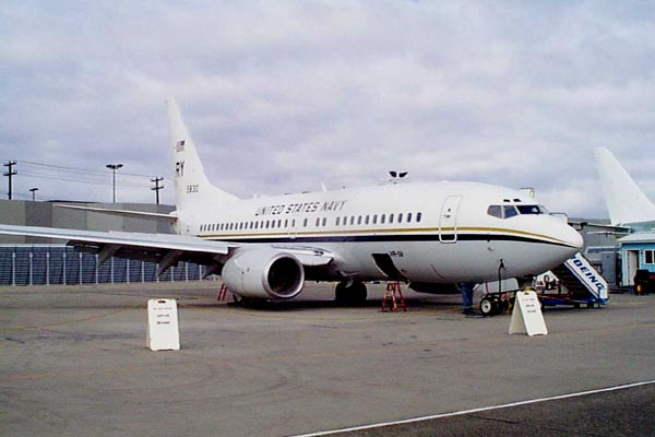C-40A aircraft #2 at the Commercial Delivery Center in Seattle.