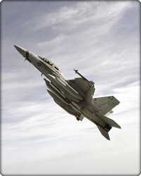 EA-18G in flight (Neg#: c22-650-1)