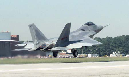 F-22 Air Dominance Fighter - 1st Flight