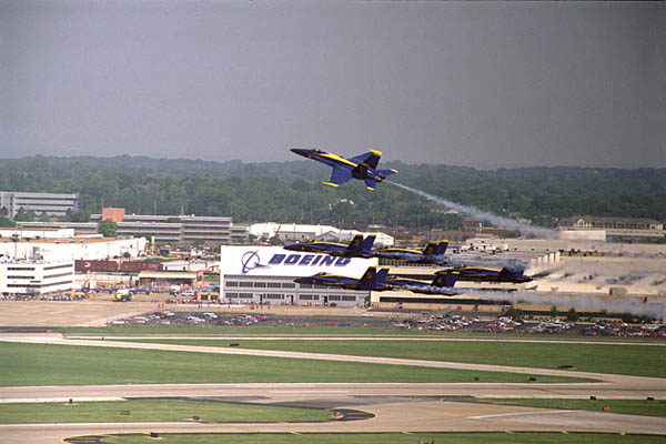 F/A-18 Hornet Blue Angel