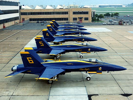 F/A-18 Hornet Blue Angels