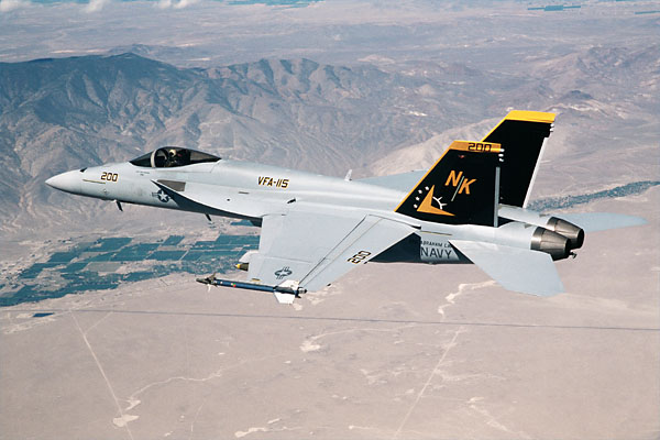 F/A-18 E/F at Naval Air Station Lemoore, California