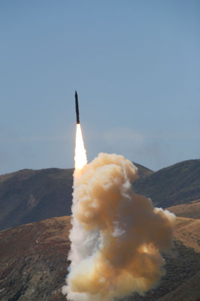 GMD Two-stage Flight Test BVT-1 took place on June 6, 2010