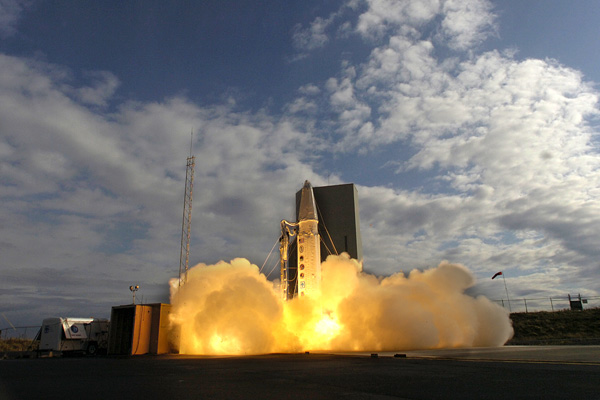 FTG-03a took place on Sept. 28, 2007. The operationally configured interceptor was launched from Vandenberg Air Force Base, Calif.