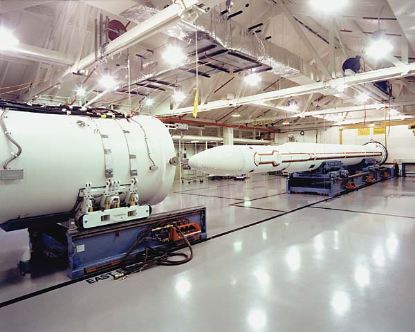 Ground-based Interceptor (GBI) booster vehicle