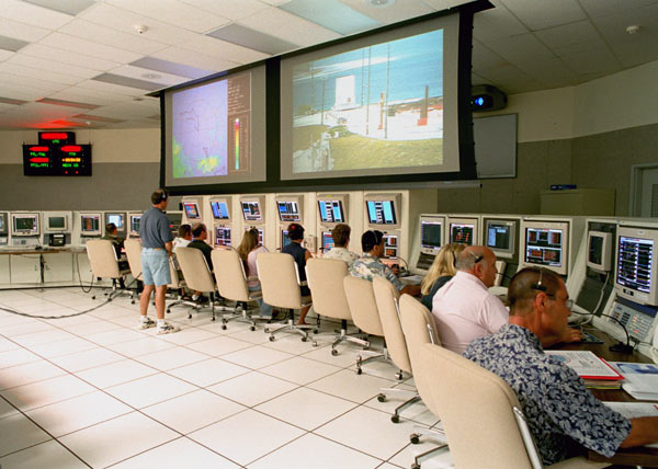 Mission Control Center, Kwajalein Island