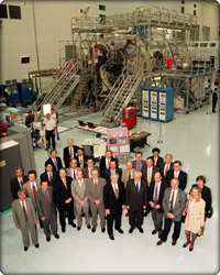 ISS Partners group photo
