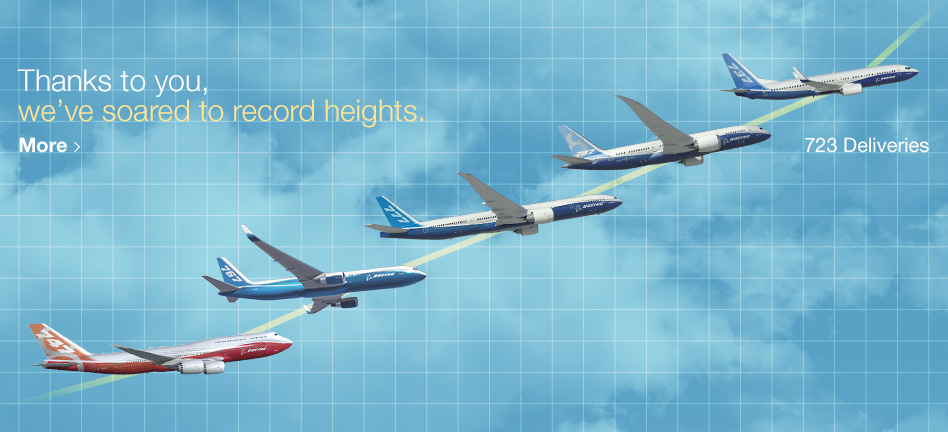 Thanks to you, we've soared to record heights.