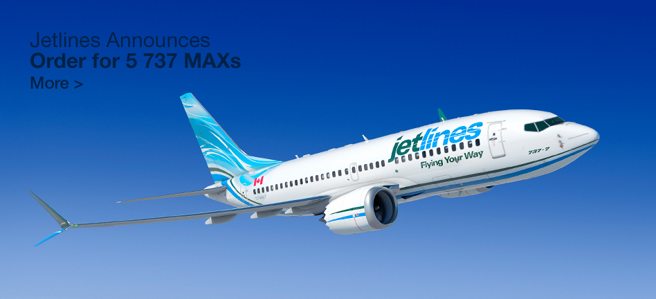 Jetlines Announces Order for 5 737 MAXs