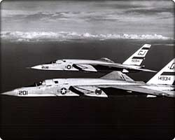 Two RA-5C Vigilantes