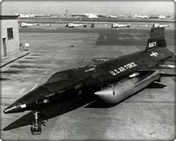 X-15 research aircraft