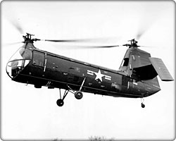 Piasecki HUP Retriever/H-15 Army Mule helicopter in flight