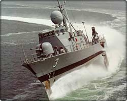Patrol Hydrofoil Missileship on Puget Sound