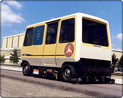 Personal rapid transit vehicle