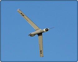ScanEagle autonomous unmanned vehicle in flight