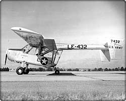 L-15 Scout observation aircraft on runway