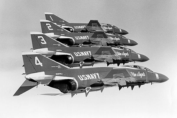 F-4 Blue Angels