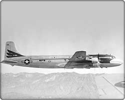 VC-118 presidential aircraft, 'The Independence'