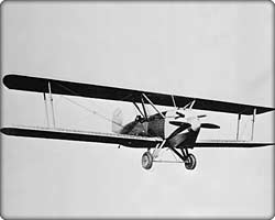 The Cloudster passenger biplane