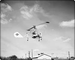 XH-20 Little Henry research helicopter in flight (Neg#: D4H-11576)