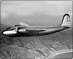 DC-5 in flight