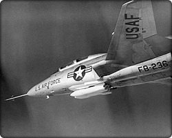 MB-1/AIR-2 Genie missiles carried by F-101 Voodoo