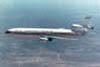 DC-10 commercial transport in flight
