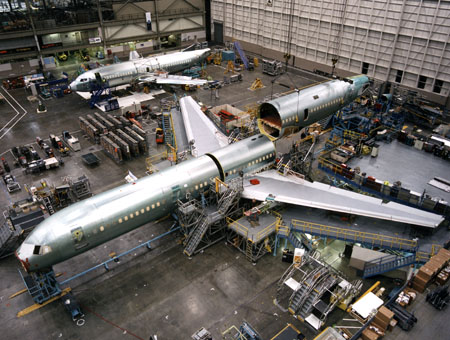 Boeing Begins Final Assembly of C-32A Executive Transport