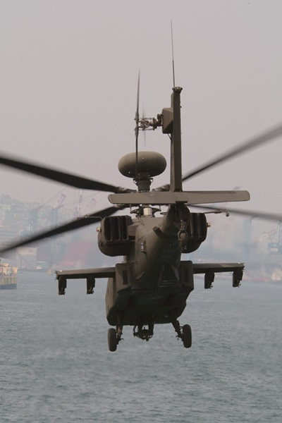 AH-64D Apache Longbow arrives at Puson