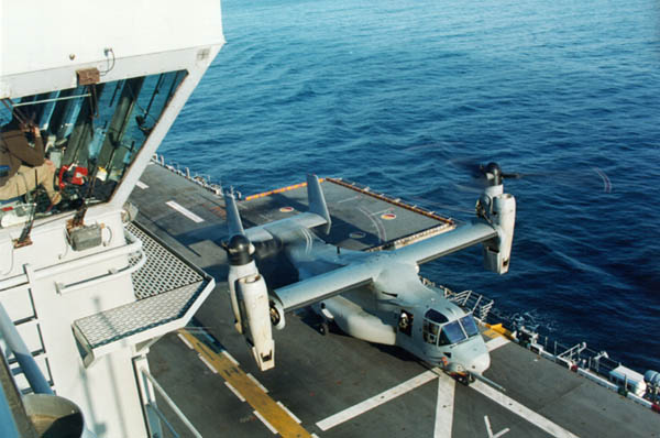 V-22 Osprey Sea Trials