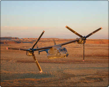 CV-22 flight operations near Kirtland Air Force Base, New Mexico. (Neg#: navair_aerial_41)