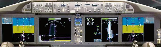 Innovative 787 Flight Deck Designed for Efficiency, Comfort
