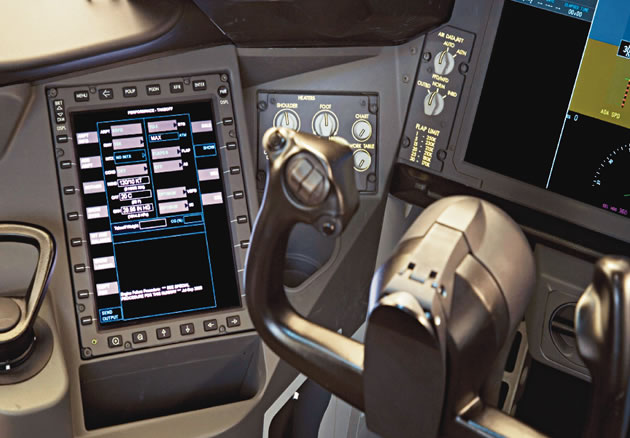 Innovative 787 Flight Deck Designed For Efficiency