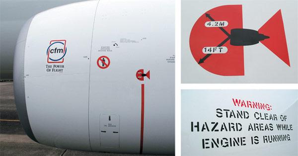 Aero Preventing Engine Ingestion Injuries When Working