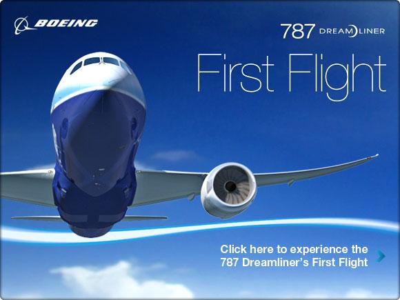 787 First Flight