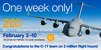 C-17 sale at the Boeing Store