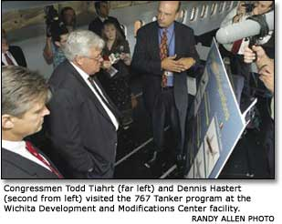Two key U.S. congressional supporters of the proposed lease of Boeing