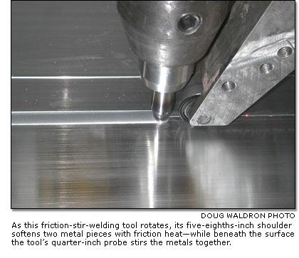 Friction Stir Welding >> Boeing Frontiers Online