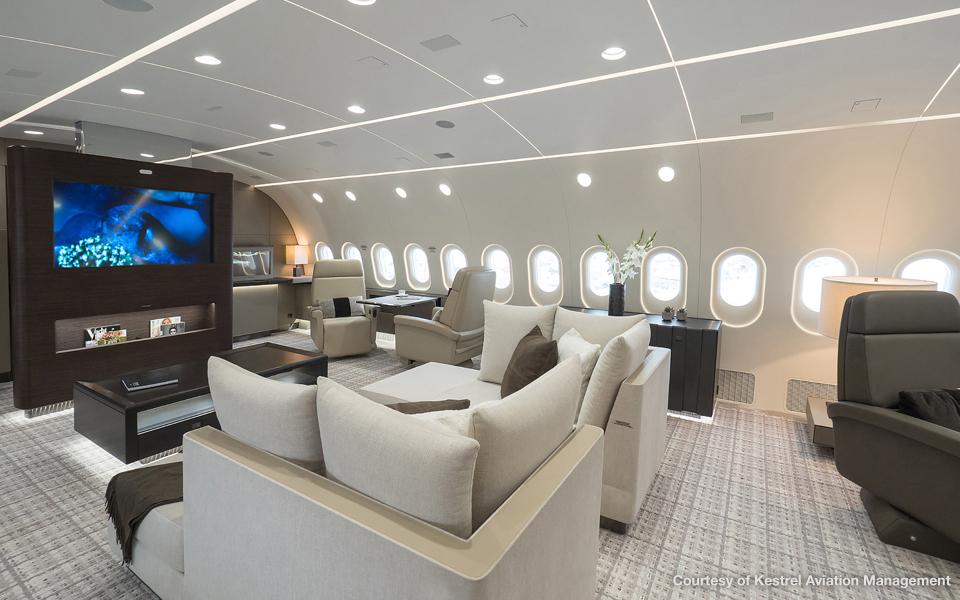 gallery - Business Jet Interior Design