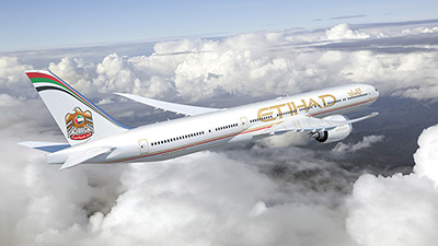 Boeing Etihad Airways